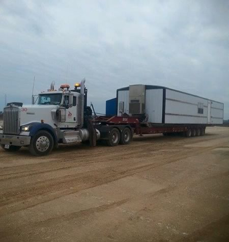 oilfield trucking